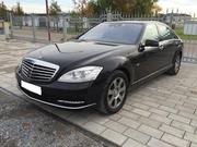 Встреча из роддома на Mercedes-Benz S-Class W221 Long,  S65 AMG,  S63 AM
